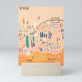 Orange Sorbet Mini Art Print