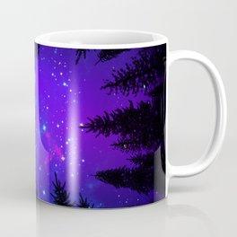 Magical Forest Galaxy Night Sky Coffee Mug