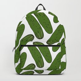 Pickles Green Cucumbers Backpack