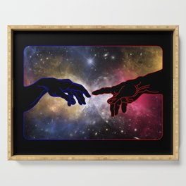 A Touch too Much – Universe Serving Tray