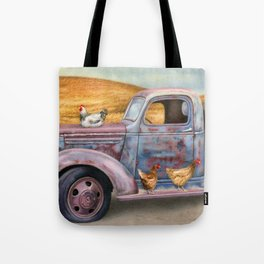 Where The Hens Gather Tote Bag