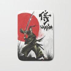 Samurai Warrior Bath Mat
