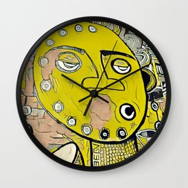Africanism Wall Clock