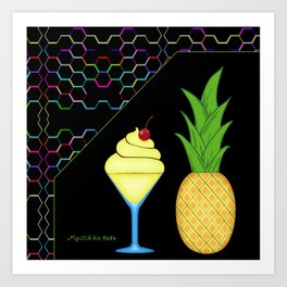 Pineapple Whip Art Print