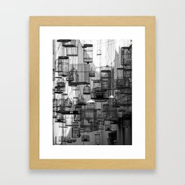 """Forgotten Songs"" Angel Place, Sydney Framed Art Print"
