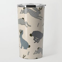 Jackalope Snow Parade Travel Mug