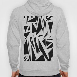 Black shapes Hoody