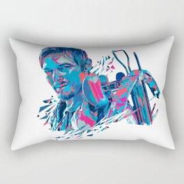 Daryl Dixon // OUT/CAST Rectangular Pillow