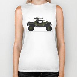 Halo Warthog Biker Tank