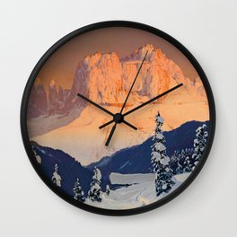 Toni Haller - Der Rosengarten von Sankt Cyprian - Digital Remastered Edition Wall Clock