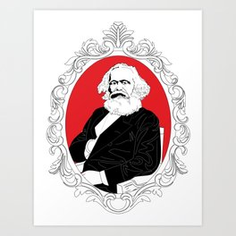 Roses Are Red And So Is The State Art Print