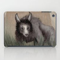beastie boys iPad Cases featuring Forest Beastie by Mr Patch