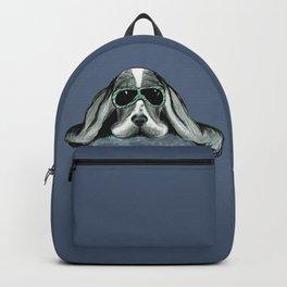 Cool Basset Hound Backpack