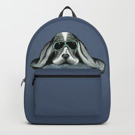 Cool Basset Hound Backpack