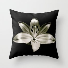 Lily Limelight Throw Pillow
