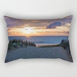 way to the beach 2 Rectangular Pillow