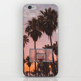 Venice Beach Sunset Ballin' iPhone Skin