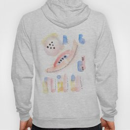 170323 Magical Unfolding 10 |Modern Watercolor Art | Abstract Watercolors Hoody