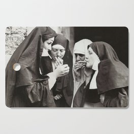 Nuns Smoking Cutting Board