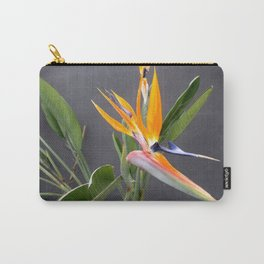 Multicolored Bird Of Paradise Flower Photograph Carry-All Pouch