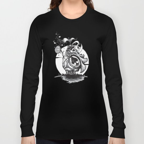 Nature Warriors: Honey Bear Long Sleeve T-shirt