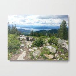 Idaho Mountains Metal Print