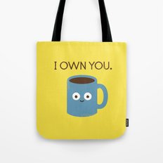 Coffee Talk Tote Bag