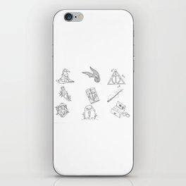 Wizarding World Flash Sheet iPhone Skin