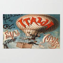 Vintage poster - Italia Rug