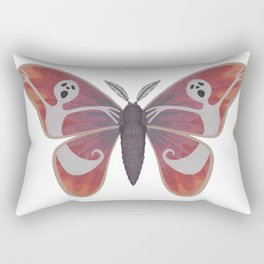 free spirit ghost (made up moth) Rectangular Pillow