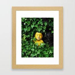 ivy man 2 Framed Art Print