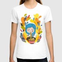 ramen T-shirts featuring I love ramen by inkdesigner