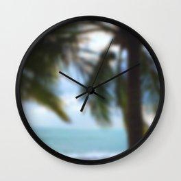 Wish you were here III Wall Clock