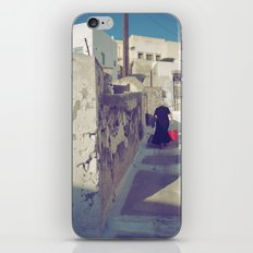Streets of Santorini IV iPhone & iPod Skin