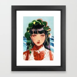 WAKAME001 Framed Art Print