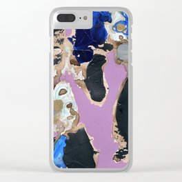 Memory Loss II Clear iPhone Case