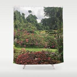 Stormy Garden Shower Curtain