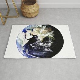Earth Globe Rug