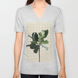 Home Ficus Unisex V-Neck