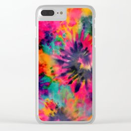 Boho Trippin Clear iPhone Case