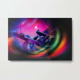 Our world is a magic - Time Tunnel 2 Metal Print