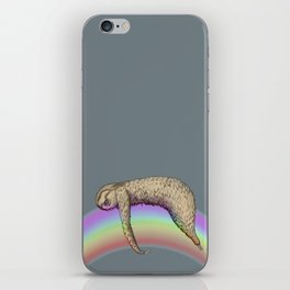 Nap (Sloth & Rainbow 2) iPhone Skin