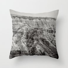 Retro Canyon Throw Pillow