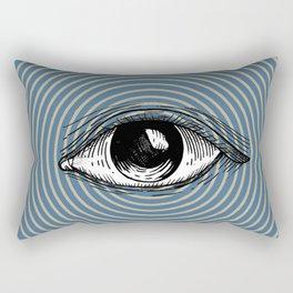 Pop Art Eye Rectangular Pillow