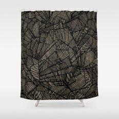 - étoile noire [blackstar] - Shower Curtain