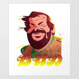 Bud Spencer Art Print