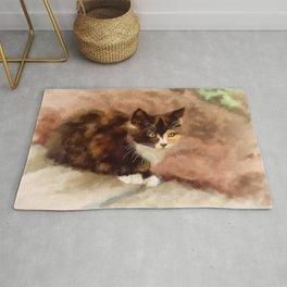 Calico Kitten Rug