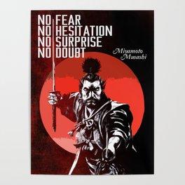 Musashi Samurai - No fear... Poster