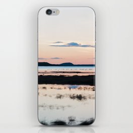 Sunset in Iceland - nature landscape iPhone Skin