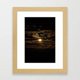 A Look of Heaven Framed Art Print